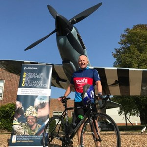 RAF Veteran goes the distance for SSAFA