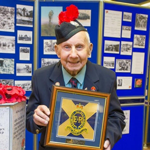 107 year-old Desert Rat laid to rest