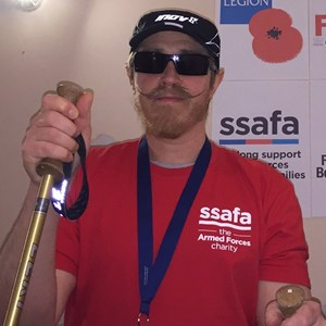 RAF veteran climbs mountains - from home
