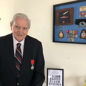World War 2 Veteran awarded Legion D'Honneur